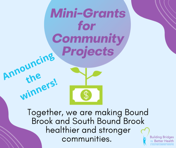 Mini-Grants for Community Projects | Bound Brook & South Bound Brook